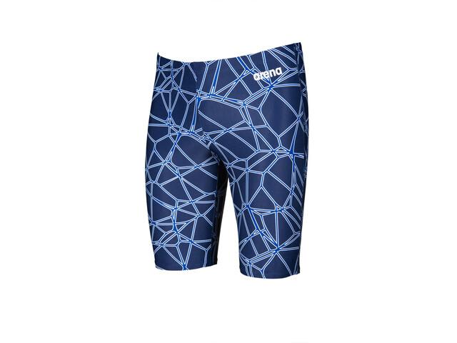 arena Carbonics Pro Jammers Men navy/neon blue